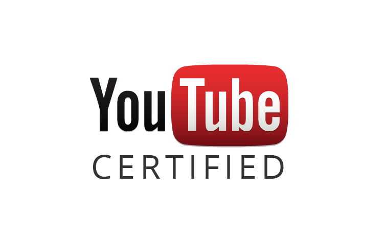 YouTube Certified Badge (Light)