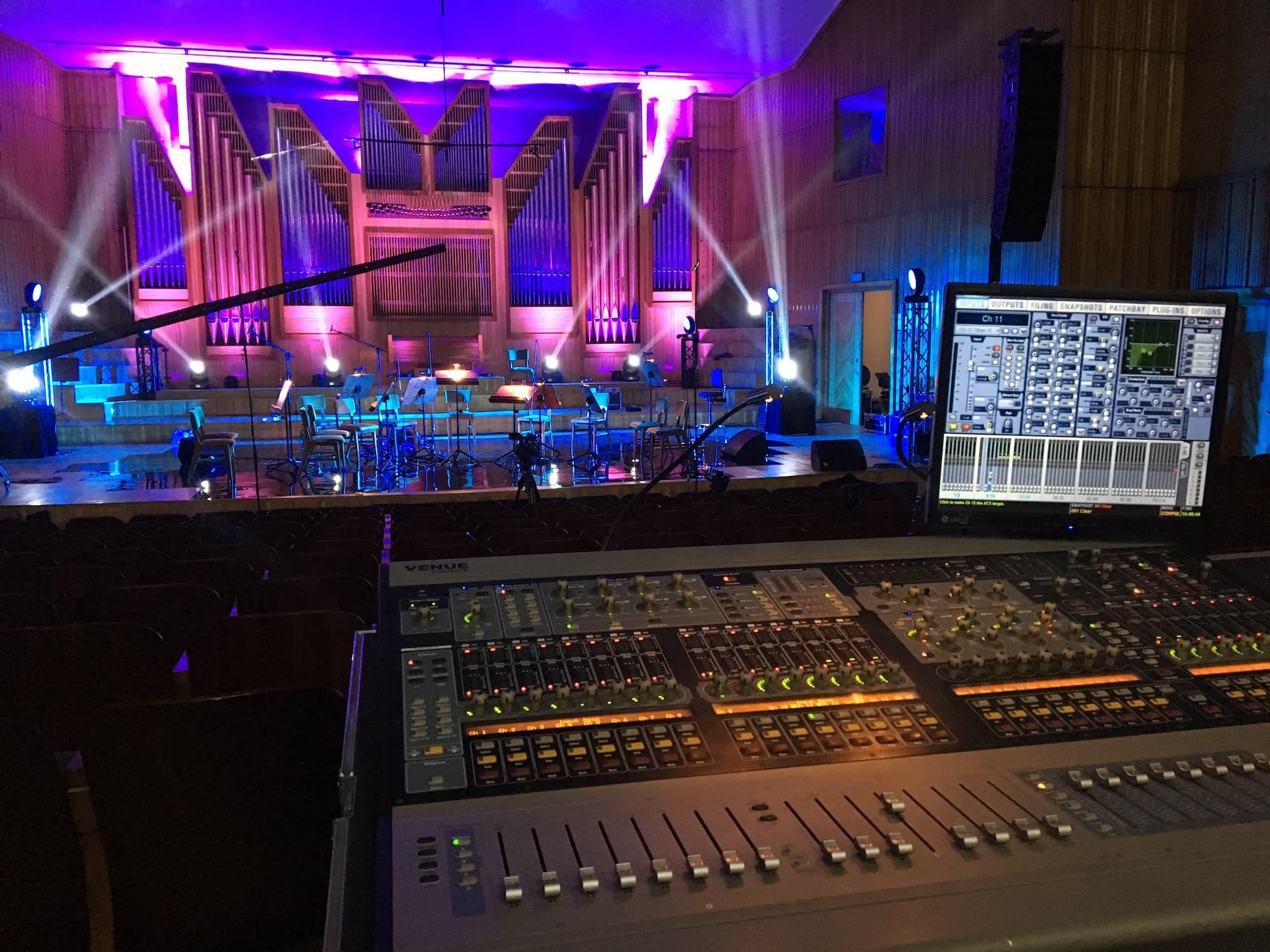 realizacja koncertów na żywo